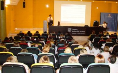 Presentación jornada cáncer colorectal hospital de Inca